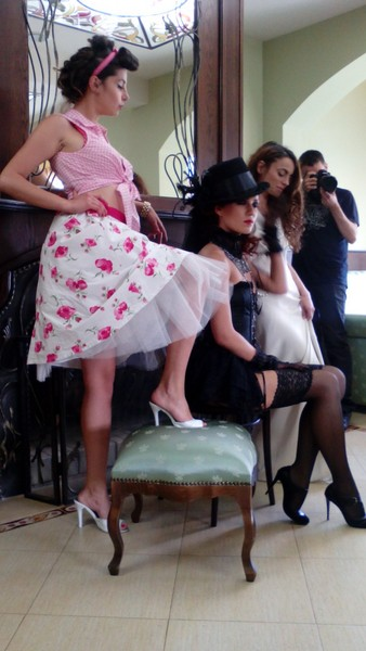 "Workshop "" Three Styles Erotica "" - retro, pin up, gothic 11"