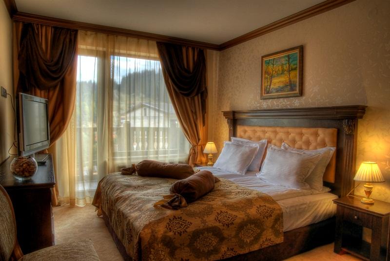 Апартамент Лукс, спалня